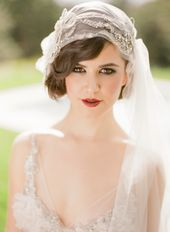 1920s inspired hairstyle! fingerwaves. stunning!