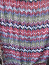 1970s Boho Scarf in gorgeous colors. Silky and floaty large hipster sarong wrap….