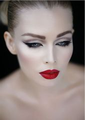 25 great make-up ideas with red lipstick