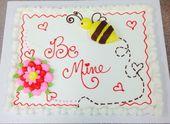 Cupcake-Design zum Valentinstag – Meine Buttercreme-Kreationen – #Buttercream # …   – Kuchendesign