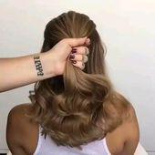 Stunning hairstyle idea