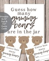 Printable Baby Wishes Book Sign – Woodland Watercolor Theme 8×10