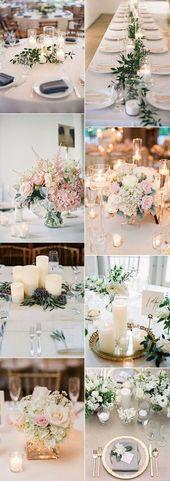 Trend elegante Hochzeit Herzstück Ideen für 2018 Trends #elegantwedding #wedd – Wedding❄️❤️