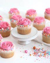 Sorbeto Rose Cupcakes – cupcakes