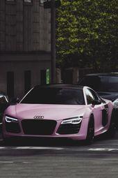 classyhustler: Für meine Damenanhänger Audi R8 V10 Plus matt pink | fotografieren …   – Cars