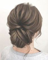 25+ ideas hairstyles bridesmaid updo low chignon #hairstyles