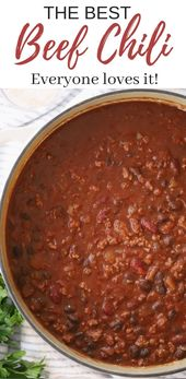 This was a huge hit! The best CHILI in only 30 minutes!! This easy chili recipe …