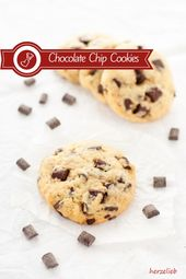 Chocolate Chip Cookies – biscuits with hard-boiled egg in the dough