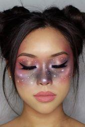 Celestial Makeup ist um 158% auf Pinterest aufgestiegen – und perfekt für Halloween