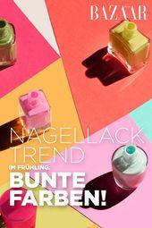 Nagellack-Trend im Frühling: bunte Farben!