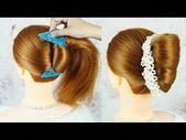Neue French Bun Frisur mit Magic Hair Comb - French Roll Frisur   French Twist Hairstyle - YouTube - 9. November 2019, um 18:22 Uhr