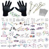 Entdecken Sie unsere große Auswahl an Piercing-Kits, die exklusiv online bei bod …   – Aaa piercing