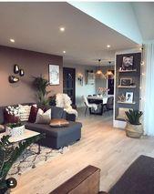 30+ Gorgeous Farmhouse Living Room Decor Idea – – Home