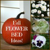 Fall Flower Bed Ideas
