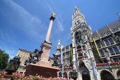 Marienplatz, München   – Trips with the kiddos – #kiddos #Marienplatz #München…