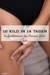 Die Thonon-Diät verspricht 10 Kilo in 14 Tagen