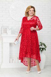 adefa6bfa04 Нарядные платья для полных женшин белорусского бренда Ninele весна 2019