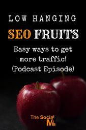 Einfache SEO-Optimierungen – Niedrig hängende SEO-Frucht … – Podcast-Episode