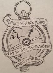 remember where you've been – Drawing