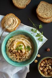 hummus de coliflor   – Comida saludable