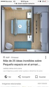 Ich mag die Idee einer Wand, die den Zugang zum Schlafzimmer trennt, anstatt ……