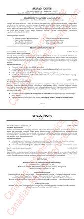 Pharmaceutical Example Resume  HttpResumesdesignCom