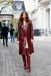 Zendaya Is the First to Wear Her New Tommy Hilfiger Collection in Paris