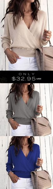 Jacoba Wrap Sweaters – Just $33 USD!