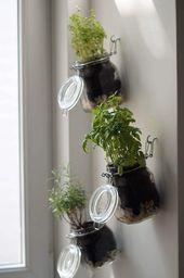 Willkommen zu einigen tollen Ideen für Ihren vertikalen vertikalen Kräutergart…