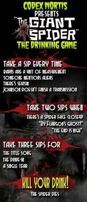 Movie 2 drinking game scary Best Halloween