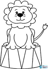 Printable Coloring Pages Of Circus Animals New Circus Pertaining To Printable Circus Lion Coloring Pages Download More Free Printable Hd Images For Lion Sirkus