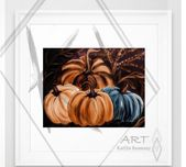 Excited to share this item from my #etsy shop: Fall breeze pumpkins prints from …