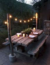 50+ Comfortable Patio Table Ideas On A Budget