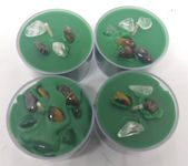 Green Crystal Abundance Candles – Wiccan Candle – Crystal Candles – Spell Candles – Money Spell candles – Green Candles