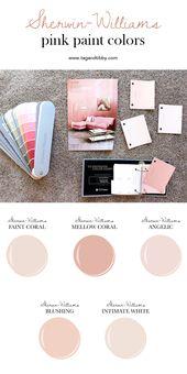 5e644568bc10eea17faf03622ab573e2  white paint colors white paints - The Best 5 Pink Paint Colors