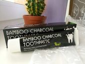 (NEW) 100% Natural Bamboo Charcoal Toothpaste – …