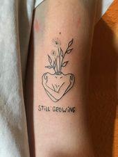 Tattoosrpüche Ideen Frauen #tattotrends #pinterest #tattoodesign #selbstpflege #sel … #tattootatuagem