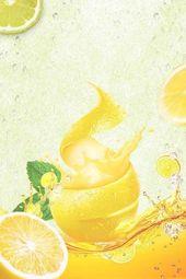 Summer orange juice poster design – drink poster