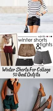 winter Shorts for college 50+ best outfits #cooleoutfitsMitRock #cooleoutfitsForGuys #cooleoutfitsNight #cooleoutfitsJeansjacke