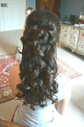 Hairstyles Abiball Semi-Open Sideways - #abiball #styles #half open # sideways - ... - #abiball