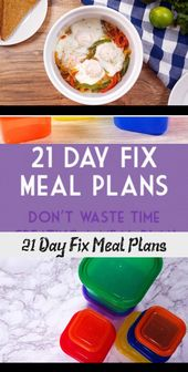 A TON of 21 Day Fix meal plans for all of the calorie brackets: 1200, 1500, 1800…