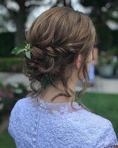 30 schöne kurze Hochzeitsfrisuren für Bräute - Braut Hochsteckfrisuren & Zöpfe
