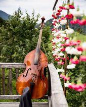 Nelkenvorhang für die Trauung #flowers #oberaudorf. ,,, #we …   – gartenideen