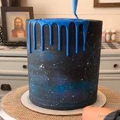 Galaxie-Tropfenfänger-Kuchen   – Rezepte für mich