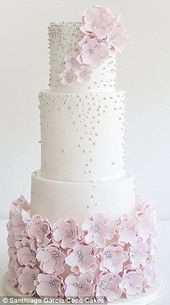 The new wedding cake trends are all about looking and tasting great   – tolle Torten und Kuchen