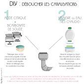 DIY : DEBOUCHER LES CANALISATIONS