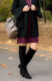 25 Tage Wintermode: LOFT Dress + OTK Boots