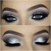 23 Natürliches Smokey Eye Make-up Brilliant machen #Brown, #eyemakeupbrown   – Makeup Inspiration, Looks, and Ideas