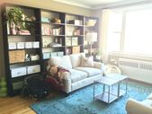 shelves behind couch – Google Search