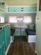 17 Oldtimer Wohnmobilanhänger Interior Makeover   – Campers ideas
